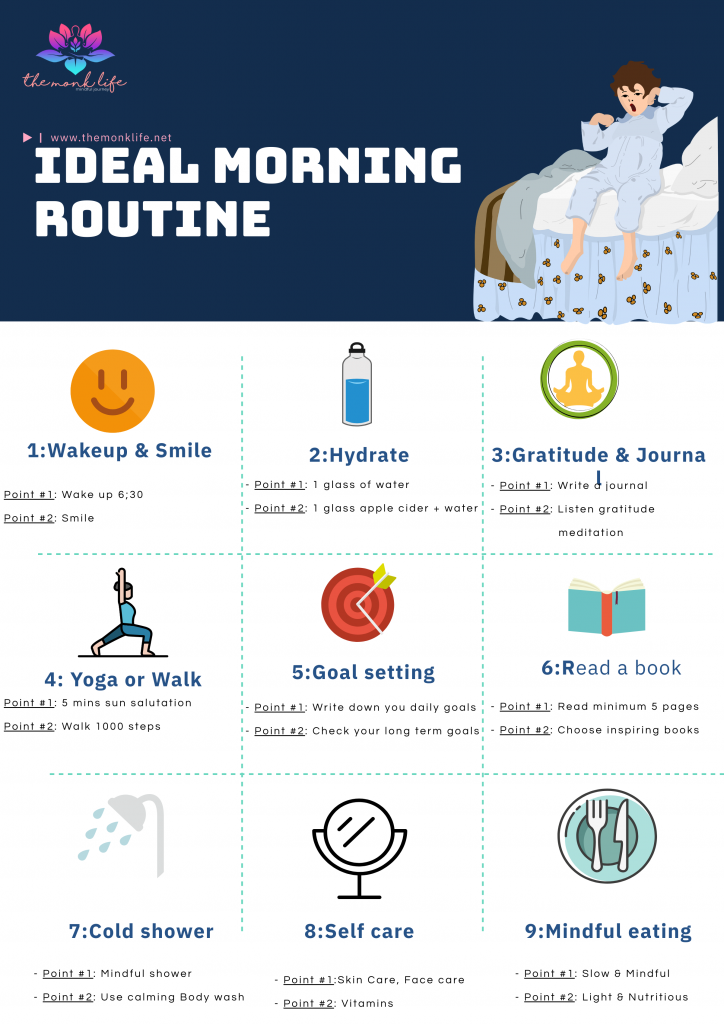 daily morning routine