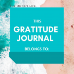 Free gratitude journal template  (4 premium bundle giveaway)